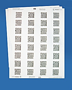 255 Pre-Printed Paper Audio Labels (Image1)